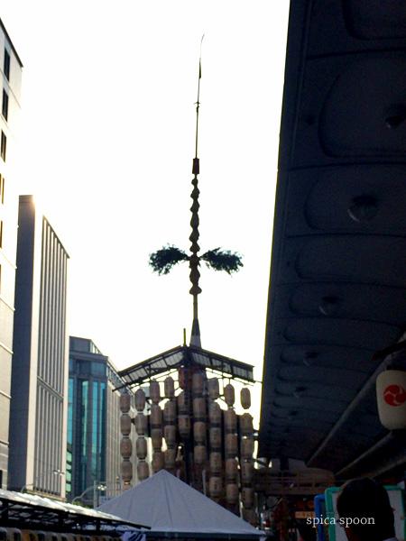 初の祇園祭の前祭へぶらっと。